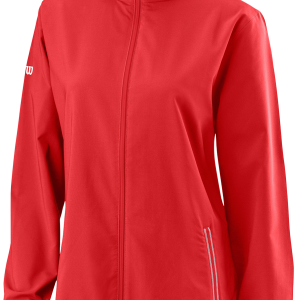 TEAM WOVEN JACKET – Wilson Red / White – Damen